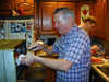 Pizza making w/Grandpa Bruhn, December 02 :