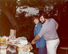 Roy & Debi 1st Wedding Anniversary party at the Bruhns, June 1979 :