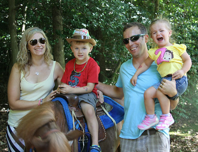 Brayden and Avery's kids Birthday Party with Ponies and a western theme, Aug 16, 2014 in Annapolis, MD