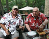 Fathers Day 2012, with Dad, Joan, Mom B and the Maniscalsco's, 6/17/12 :