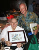 Grandpa DeBoer (Roy H Sr.) honored for 58 years of service to the Rutgers Gardens at the annual Gala Dinner, Sept. 12, 2013 :