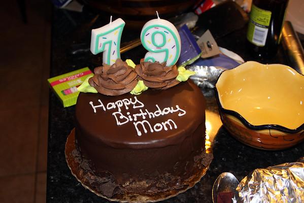 Mom Bruhns 79th Birthday, July 1, 2013