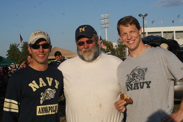 Navy vs San Jose St, 41-31 win, tailgate with Derek,Niki, Brayden and Avery , and Josh Helwig , Abby and Brook.  Oct 25 2014