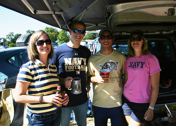 Navy vs W Kentucky Tailgate, Sept. 27,2014, with Derek, Niki & the kids with Josh & Jill Helwig and their crew. Navy lost, but a fun tailgate!
